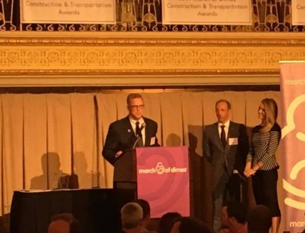 DuPage County Chairman Cronin Receives March of Dimes Award